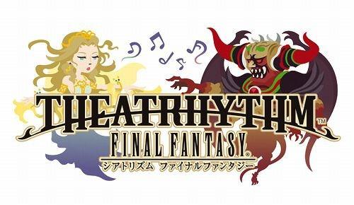 Final Fantasy Theatrhytm, logo.