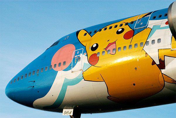 Avion Pikachu