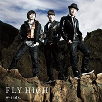 "W-inds ""Fly High""- jaquette."