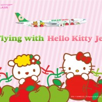 HelloKitty x Eva Air Walpaper 3