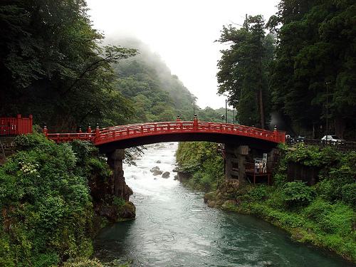 Pont Shinkyo à Nikko.