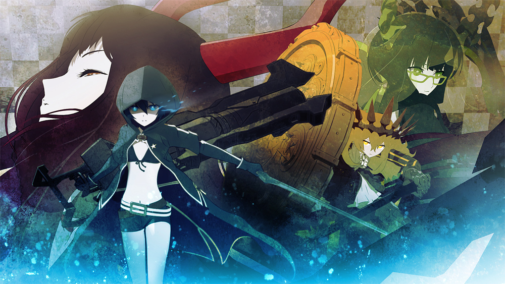 Visuel site officiel Black Rock Shooter.