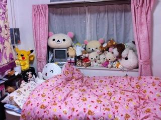 chambre de filles japonaises le site du japon. Black Bedroom Furniture Sets. Home Design Ideas
