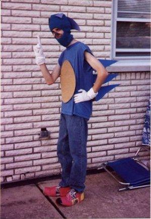 Sonic the Hedgehog cosplay