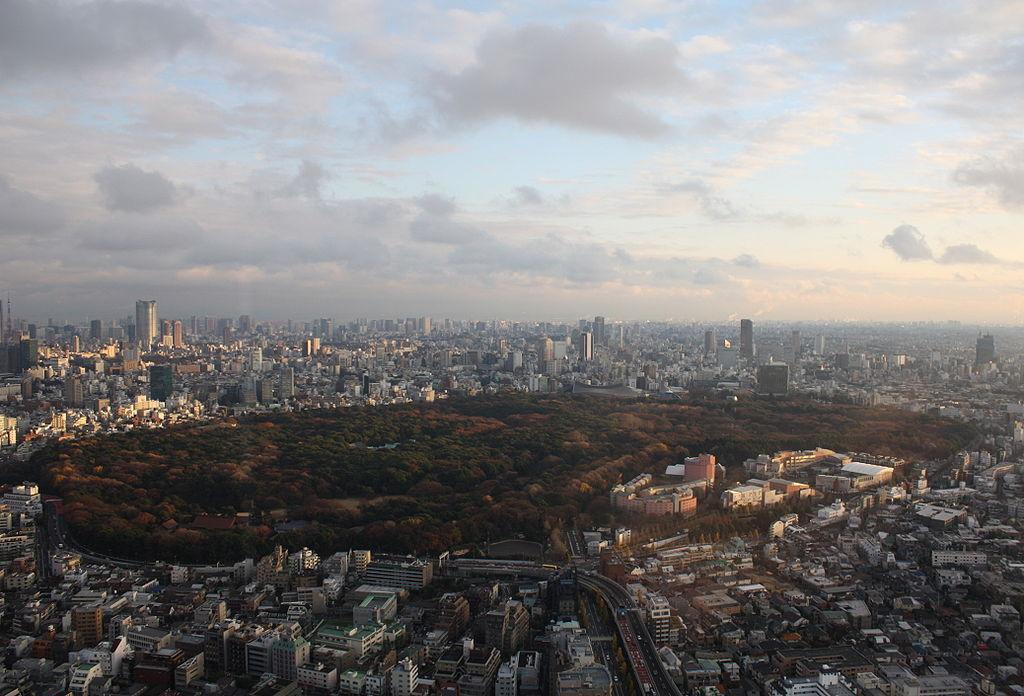 Yoyogi Koen & Meiji Shrine