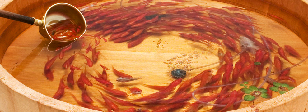 Riusuke fukahori le cr ateur du poisson d 39 or le site for Achat poisson rouge japonais