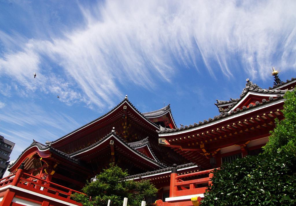Kannon temple, asakusa, par Isado