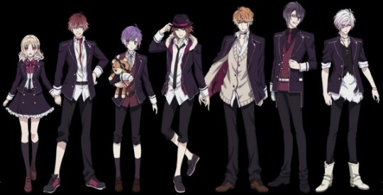 Personnages Diabolik lovers
