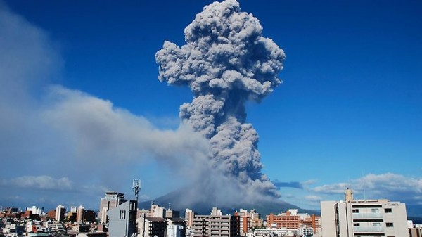 Image du jour : le Sakurajima.