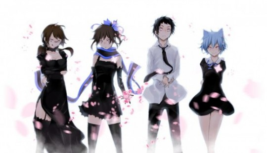 Yozakura Quartet ~ Hana no Uta ~ personnages