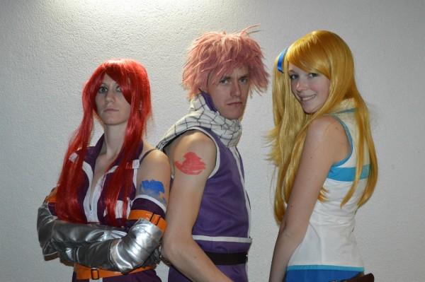 Erza Knightwalker, Natsu Dragneel & Lucy Heartflia (Fairy Tail)