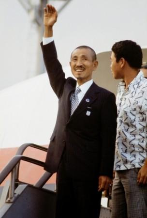 Hiroo Onoda retour au Japon