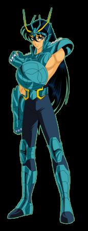 Shiryu dans la série animée Saint Seiya