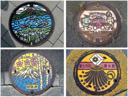 plaque d'égout au Japon (1b)
