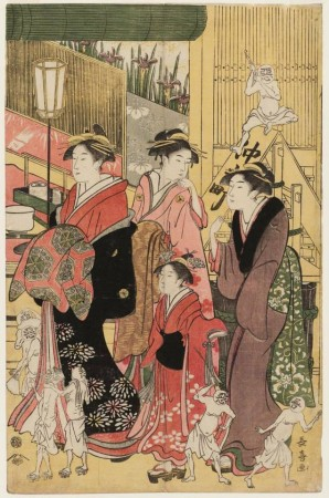 Bon et mauvaise influence à Yoshiwara