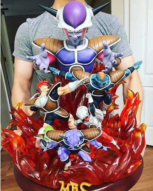 Figurines dragon ball - Freezer et guerrier de l'espace figurine