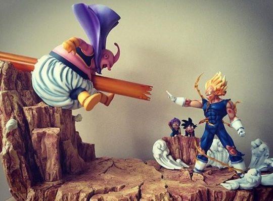 figurine Vegeta vs Boo