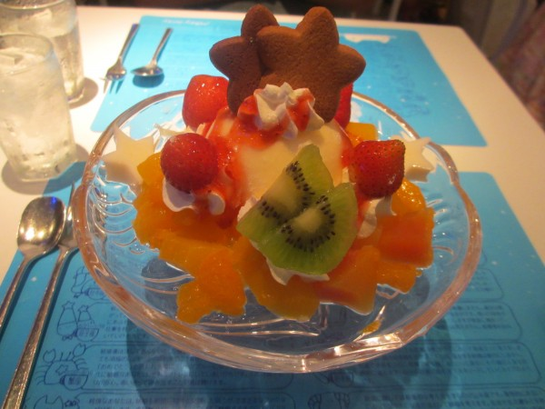 Glace du Milky Way Cafe