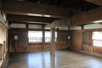 intérieur du château de Maruoka