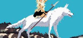 Ghibli en pixel art