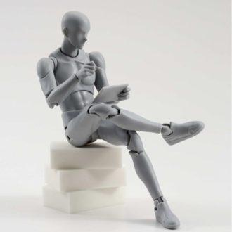 Body Kun, figurine modèle pour graphistes et dessinateurs