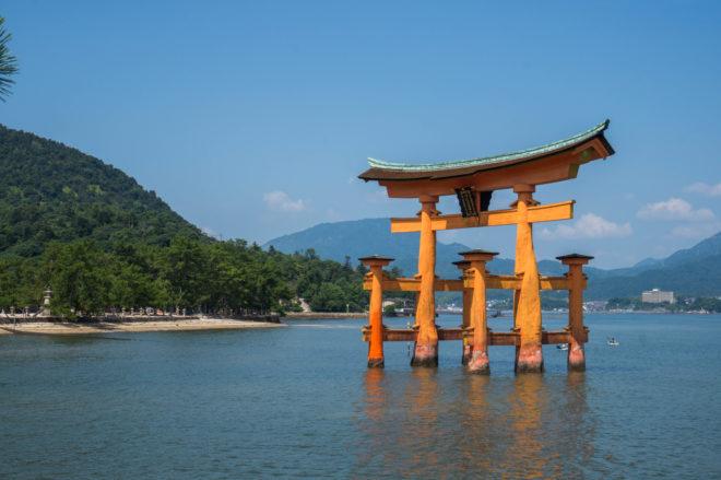 Grand torii Miyajima