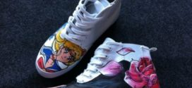 Des baskets Sailor Moon