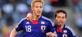Keisuke Honda au Milan AC en janvier.