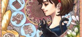 """Affiches Miyazaki revisité façon """"art nouveau""""."""