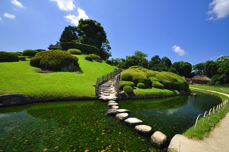 Le korakuen okayama le site du japon for Le jardin korakuen