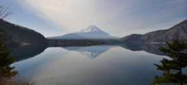 Les 5 lacs du Mont Fuji.