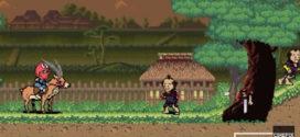 Princesse Mononoke 8 bits.