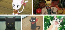Top des chats d'animation japonaise