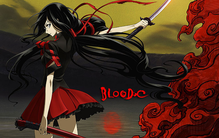 Blood C Le Site Du Japon