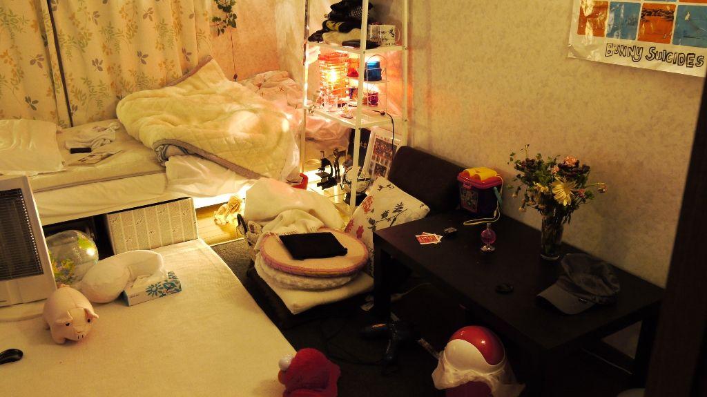 chambre de fille japonaise 11 le site du japon. Black Bedroom Furniture Sets. Home Design Ideas